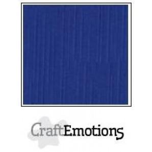 CraftEmotions linnenkarton 10 vel hemelsblauw LHC-46 A4 250gr