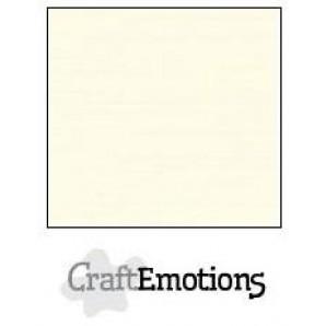 CraftEmotions linnenkarton 10 vel ivoor LHC-03 A4 250gr
