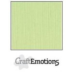 CraftEmotions linnenkarton 10 vel kiwi LHC-21 A4 250gr