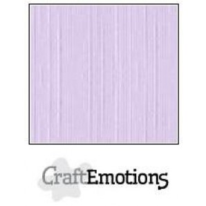 CraftEmotions linnenkarton 10 vel heide pastelLHC-49 A4 250gr