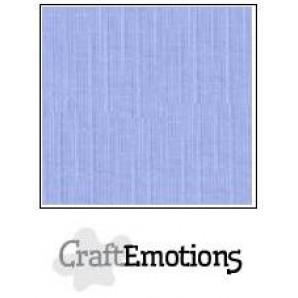 CraftEmotions linnenkarton 10 vel licht jeans LHC-42 A4 250gr