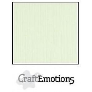 CraftEmotions linnenkarton 10 vel lichtgroen LHC-34 A4 250gr