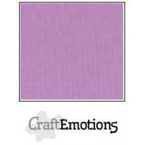 CraftEmotions linnenkarton 10 vel lila LHC-33 A4 250gr