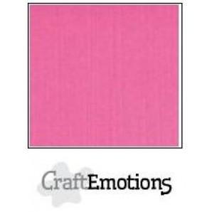 CraftEmotions linnenkarton 10 vel magenta LHC-41 A4 250gr