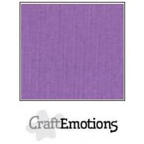 CraftEmotions linnenkarton 10 vel paars LHC-24 A4 250gr