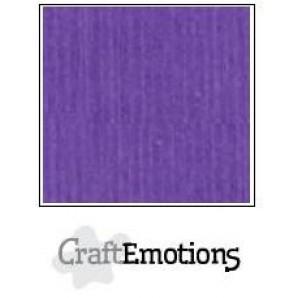 CraftEmotions linnenkarton 10 vel purper violet LHC-54 A4 250gr