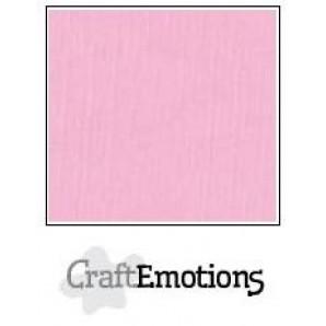 CraftEmotions linnenkarton 10 vel roze LHC-38 A4 250gr