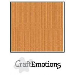 CraftEmotions linnenkarton 10 vel toffee LHC-91 A4 250gr