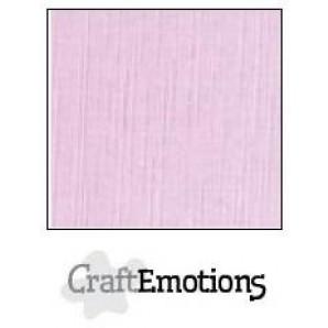 CraftEmotions linnenkarton 10 vel zacht lila LHC-19 A4 250gr