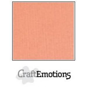 CraftEmotions linnenkarton 10 vel zalm LHC-43 A4 250gr
