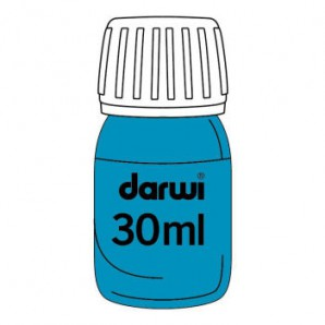 Darwi inkt turquoise