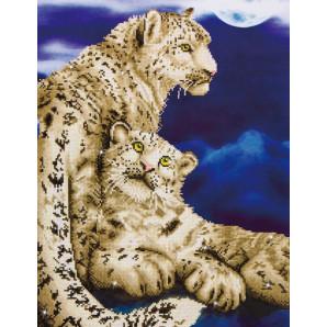 DIAMOND DOTZ Snow Leopards DD12.004