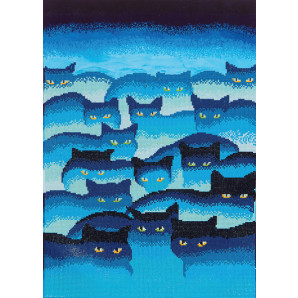 DIAMOND DOTZ Smokey Mountain Cats DD12.015