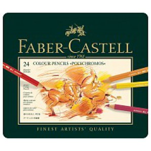 Faber Castell Kleurpotloden Polychromos set a 24 stuks