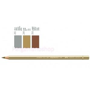 Faber Castell Polychromos kleurpotlood per stuk metallic