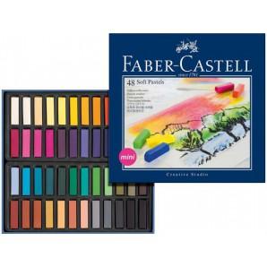 Sjabloneerkrijt Faber Castell 48 st mini