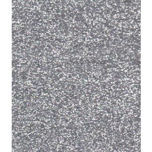 Glitter Papier Zilver, 5 vel A4