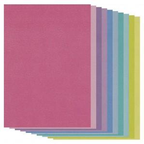 Groovi Parchment Paper A4 TWO TONE PARCHMENT MIX PACK (20 SHEETS)