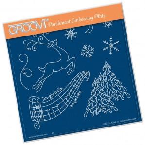 Groovi Plate Jingle Bells