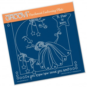Groovi Plate A5 LINDA'S A STAR IS BORN 41167