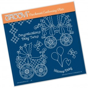 Groovi Plate  LINDA'S CONGRATULATIONS   A5