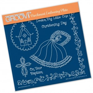 Groovi Plate  LINDA'S DREAM BIG LITTLE ONE  A5
