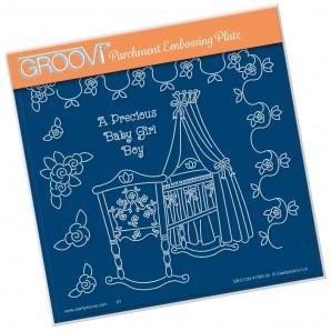 Groovi Plate  LINDA'S A PRECIOUS BABY    A5
