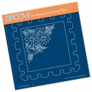 Groovi Plate Frilly Square