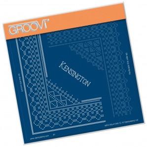Groovi Grid Piercing Plate A5 KENSINGTON LACE GRID DUET