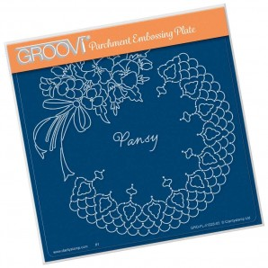 Groovi Plate A5 Pansy