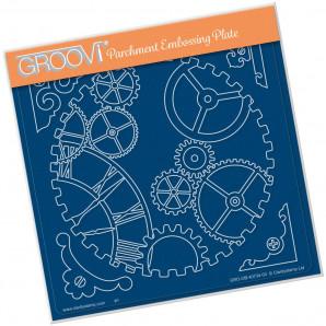 Groovi Plate A5 COGS GRO-OB-40734-03