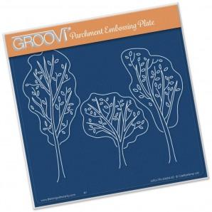 Groovi Plate Trees A5