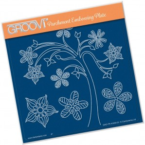 Groovi Plate TINA'S TREE FUN     A5