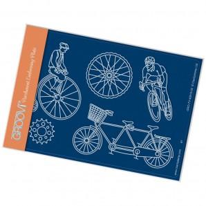 Groovi Plate A6 Cycling