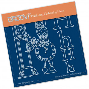 Groovi Plate A6 NURSERY RHYME 'H' GRO-WO-40475-01