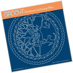 Groovi Plate A5 Fairy Enchantment Round 40948