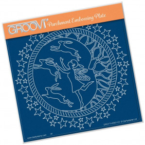 Groovi Plate A5 Fairy Night Round  40951