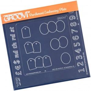 Groovi Plate Insert Numbers
