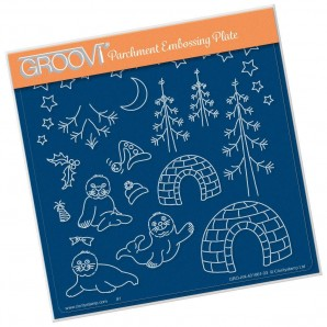 Groovi Plate Linda's Seals A5