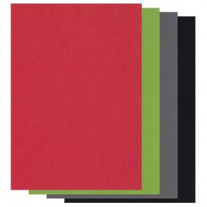 Groovi Parchment Paper A4 mix Christmas Colours