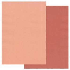 Groovi Parchment Paper A4 Two Tone Nutmeg-Peach