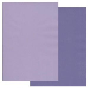Groovi Parchment Paper A4 Two Tone Wisteria-Iris