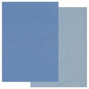 Groovi Parchment Paper A5 Two Tone Blue