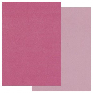 Groovi Parchment Paper A5 Two Tone Pink