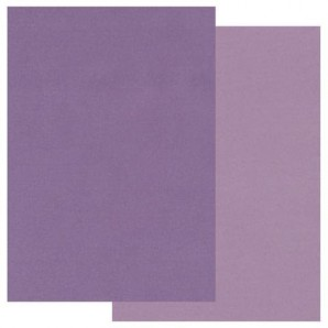 Groovi Parchment Paper A5 Two Tone Purple
