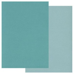 Groovi Parchment Paper A5 Two Tone Teal