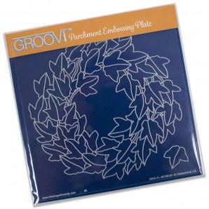 Groovi Plate Ivy Wreath