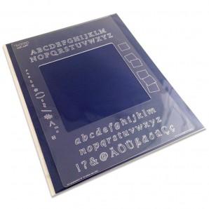 Groovi Plate Mate Alphabet