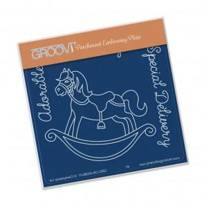 Groovi Plate A6 Rocking Horse