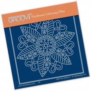 Groovi Plate A6 TINA'S BUTTERFLY FLOWER PETITE
